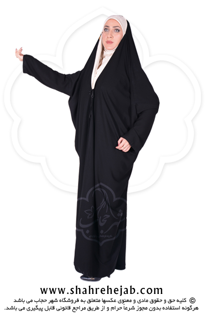 چادر اماراتی کرپ کن کن ژرژت شهر حجاب مدل ۸۰۱۷