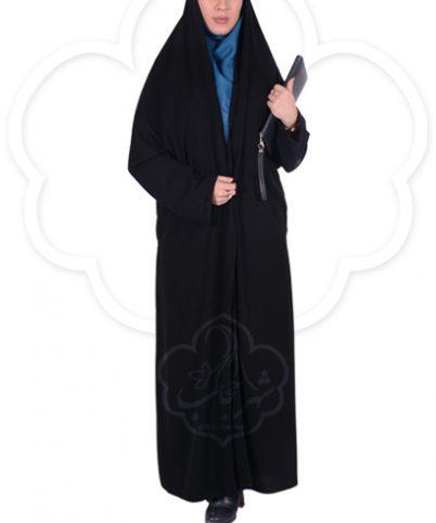چادر ملی اداری کرپ کریستال شهر حجاب مدل ۸۰۰۳