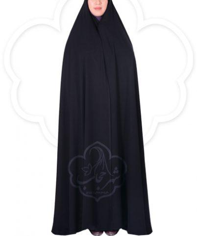 چادر سنتی ایرانی کرپ کریستال شهر حجاب مدل ۸۰۰۷