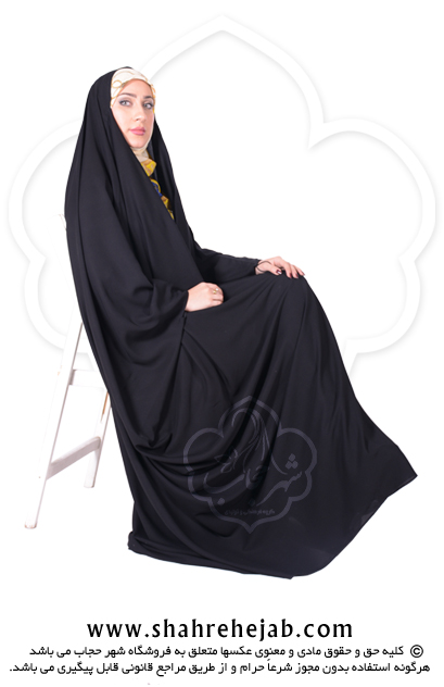 چادر جده عبایی کرپ کن کن ژرژت شهر حجاب مدل ۸۰۱۴