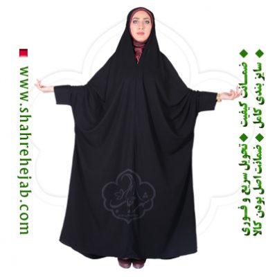 چادر اسماء کرپ کریستال شهر حجاب مدل ۸۰۶۰